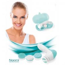 Набор для очищения и массажа кожи лица 4 в 1, Naomi Dead Sea Cosmetics