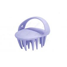 Массажер для мытья головы и ухода за волосами Сиреневая Каракатица