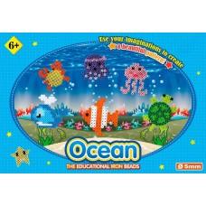 Термомозаика «ПОДВОДНЫЙ МИР» Ironing Beads - Sea