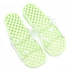 Гелевые массажные тапочки Зеленая Мята мягкие