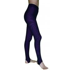 Спортивные леггинсы Муары-М, цвет основы  Фиолетовый