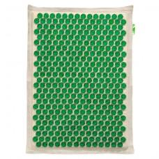 Аппликатор Кузнецова на мягкой подложке 41x60 см Зеленый – менее острые иглы, без магнитных вставок