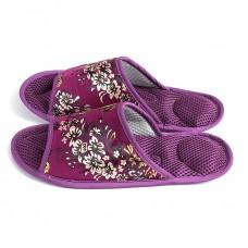 Массажные тапочки Фиолетовый Гобелен