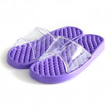 Гелевые массажные тапочки Фиолетовые мягкие