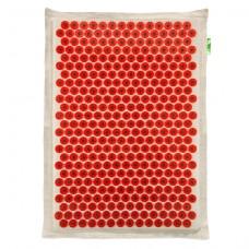 Аппликатор Кузнецова на мягкой подложке 41x60 см (Красный – менее острые иглы)