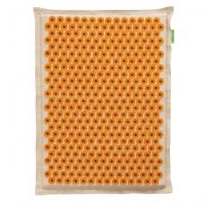 Аппликатор Кузнецова на мягкой подложке 41x60 см Желтый – более острые иглы