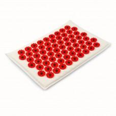 Аппликатор Кузнецова на мягкой подложке 17х28 см  (Красный – менее острые иглы)