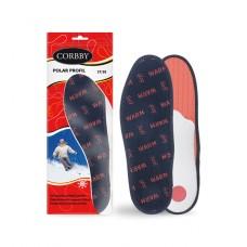 Ортопедические зимние стельки Polar Profil - Corbby